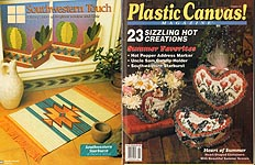 Plastic Canvas! Magazine Number 33, July - Aug 1994