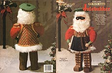 TNS Plastic Canvas Old World Santas: Julebukker