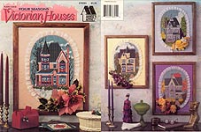 Plastic Canvas Four Seasons Victorian Houses