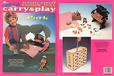 TNC Plastic Canvas Fashion Doll Carry & Play: Park