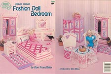 ASN Plastic Canvas Fashion Doll Bedroom