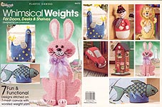 TNC Plastic Canvas Whimsical Weights For Doors, Desks & Shelves