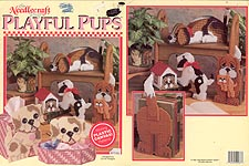 TNS Plastic Canvas Playful Pups