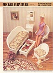 Annie's International Plastic Canvas Club: Fashion Doll Furniture Wicker Furniture