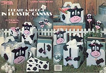 LA Create A MOOO-D in Plastic Canvas