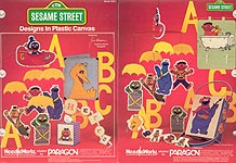 LA Sesame Street Designs in Plastic Canvas
