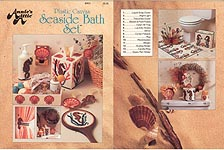Annie's Attic Plastic Canvas Seaside Bath Set