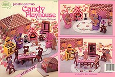 ASN Plastic Canvas Candy Playhouse