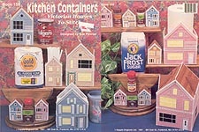 Kappie Originals Plastic Canvas Kitchen Keepers