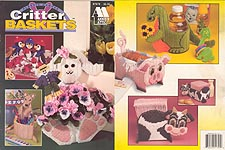 Annie's Attic Plastic Canvas Critter Baskets