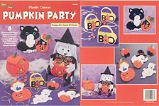 TNS Plastic Canvas Pumpkin Party