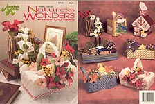 Annie's Attic Plastic Canvas Nature's Wonders Tissue Covers