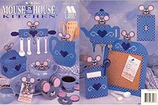 Annie's Attic Plastic Canvas Mouse in the House Kitchen