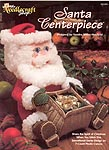 TNS Plastic Canvas Santa Centerpiece