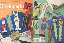 Annie's Attic Plastic Canvas Bookmarks for All Occasions
