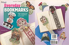 TNS Plastic Canvas Everyday Bookmarks