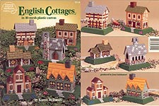 ASN English Cottages in 10- Mesh Plastic Canvas