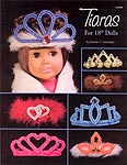 "Plastic Canvas Tiaras for 18"" Dolls"