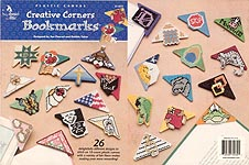 Annie's Attic Plastic Canvas Creative Corners Bookmarks