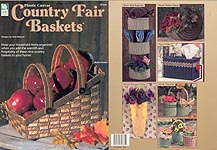 HWB Plastic Canvas Country Fair Baskets