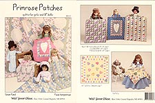 "Primrose Patches Quilts for Girls and 18"" Dolls"