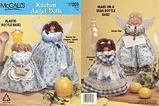 McCall's Kitchen Angel Dolls