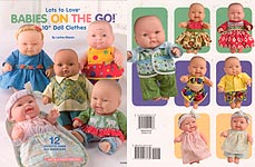 "HWB SEWING: Lots to Love Babies on the Go 10"" Doll Clothes"