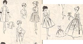 1-485-T (Fashion doll outfits to SEW)