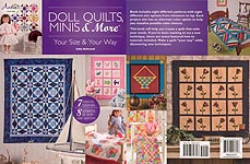 Annie's SEW Doll Quilts, Minis & More -- Your Size & Your Way
