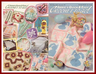 Cover of April-May 1998 issue of Annies Quick and Easy Crochet To Go