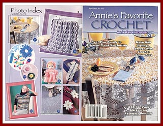 Cover of Annies Favorite Crochet for April 2001.