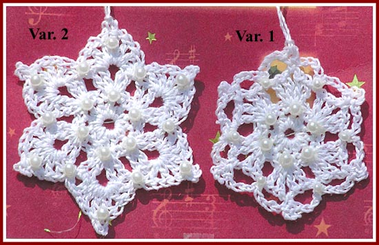 Treasured Heirlooms Crochet Free Patterns Snowflakes