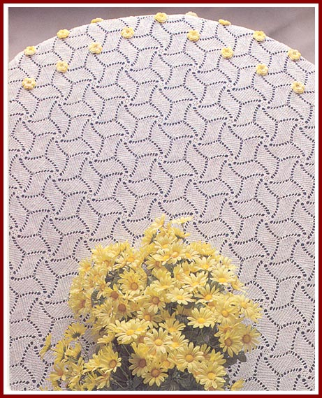 Over 300 Free Crocheted Doilies Patterns at AllCrafts!