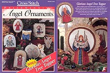 Cross Stitch & Country Crafts Prize Winning Angel Ornaments