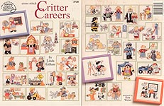 Cross-Stitch Critter Careers