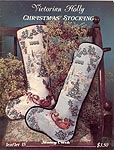 Stoney Creek Cross Stitch Victorian Holly Christmas Stocking