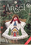 Counted Cross Stitch Clothespin Angel Kit: Church