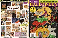 Just Cross Stitch Halloween -- 2017 Special Collector's Issue