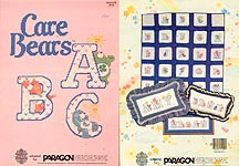 Paragon Care Bears� ABC in Counted Cross Stitch