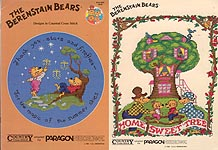 The Berenstain Bears Designs in Counted Cross Stitch