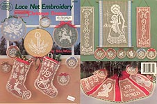 ASN Lace Net Embroidery Christmas Designs
