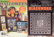 Just Cross Stitch Halloween -- 2014 Special Collector's Issue