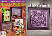 Just Cross Stitch Halloween -- 2013 Special Collector's Issue