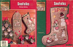 Stitch World SnoFolks Christmas Collection