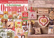 Just Cross Stitch 2014 Special Christmas Issue: Christmas Ornaments