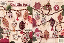 ASN Deck the Halls Perforated Paper Ornaments