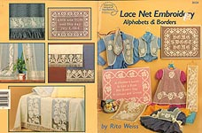 ASN Lace Net Embroidery Alphabets & Borders