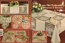 ASN Lace Net Embroidery Placemats & Tablecloths