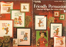 LA Friendly Persuasion Charted Designs for Cross Stitch